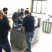 SCA Barista Intermediate@coffeelovers.gr #barista #baristatraining #espresso #cappuccino #coffeediploma #coffeelovers #coffee #coffeeknowledge #coffeeschool #latteart