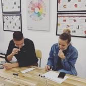 JACOBS Barista Workshop @coffeelovers.gr #brewingcoffee #coffeelovers #coffeediploma #coffee #filtercoffee #coffeeknowledge #coffeetrends #waterforcoffee #baristatraining #coffeebrewing #coffeelifestyle #espresso #cappuccino #jacobsespresso #easymilk #lenezducafe