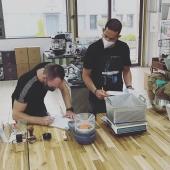 SCA Roasting Foundation @coffeelovers.gr #barista #baristatraining #coffeediploma #coffeelovers #coffee #coffeeknowledge #coffeeschool #greencoffeebean #roastingcoffee #coffeesensory #gradingcoffeequality #coffeeaddict