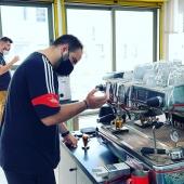SCA Barista Intermediate @coffeelovers.gr #barista #baristatraining #espresso #cappuccino #coffeediploma #coffeelovers #coffee #coffeeknowledge #coffeeschool #jacobsespesso #easymilk